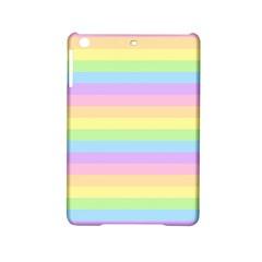 Cute Pastel Rainbow Stripes Ipad Mini 2 Hardshell Cases