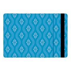 Blue Ornamental Pattern Apple Ipad Pro 10 5   Flip Case