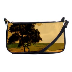 Landscape Shoulder Clutch Bags