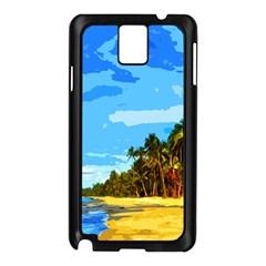 Landscape Samsung Galaxy Note 3 N9005 Case (black)