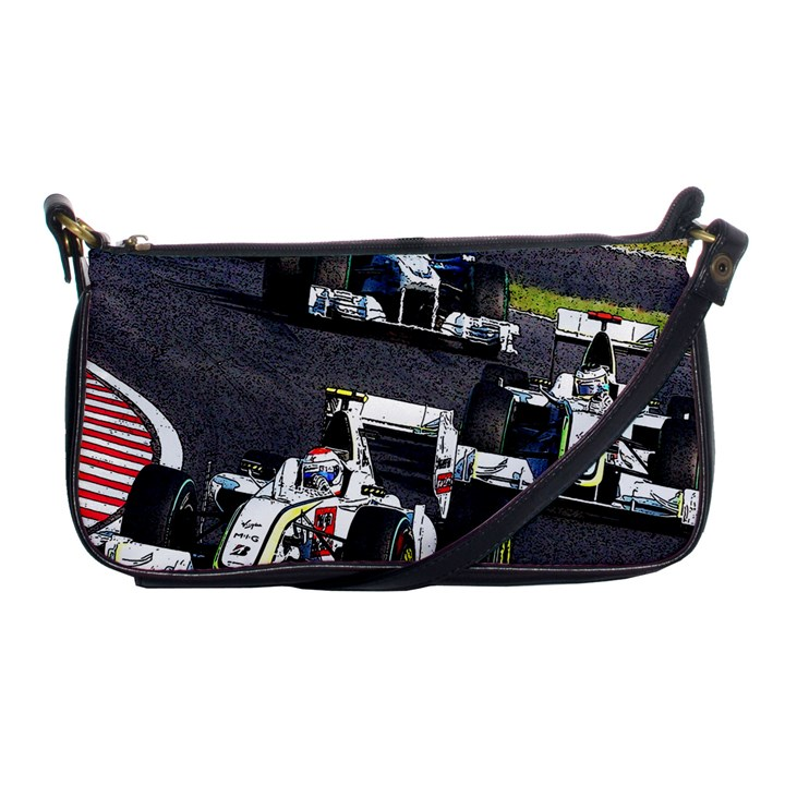 Formula 1 Shoulder Clutch Bags