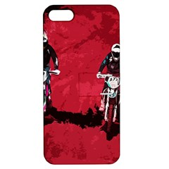 Motorsport  Apple Iphone 5 Hardshell Case With Stand