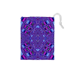 Race Time Queen Drawstring Pouches (small)