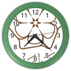 Logo Of Yazd  Color Wall Clocks
