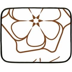Logo Of Yazd  Double Sided Fleece Blanket (mini)