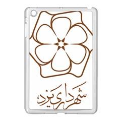 Logo Of Yazd  Apple Ipad Mini Case (white)