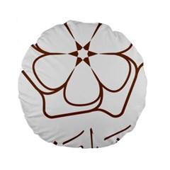 Logo Of Yazd  Standard 15  Premium Round Cushions