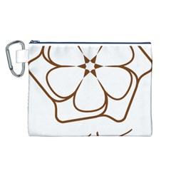 Logo Of Yazd  Canvas Cosmetic Bag (l)