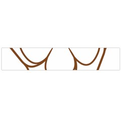 Logo Of Yazd  Flano Scarf (large)