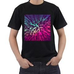 Just A Stargazer Men s T Shirt (black)