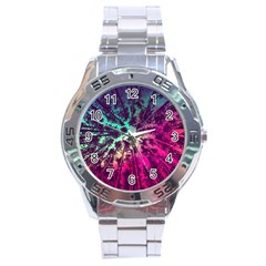 Just A Stargazer Stainless Steel Analogue Watch