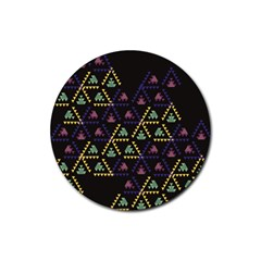 Triangle Shapes                              Rubber Coaster (round)