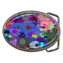 Big And Small Shapes                             Belt Buckle