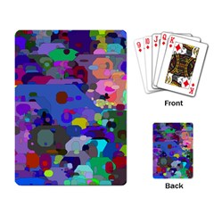 Big And Small Shapes                             Playing Cards Single Design