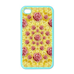 Roses And Fantasy Roses Apple Iphone 4 Case (color)