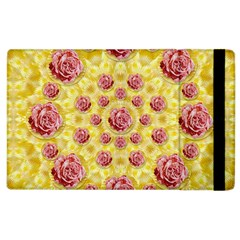 Roses And Fantasy Roses Apple Ipad 2 Flip Case
