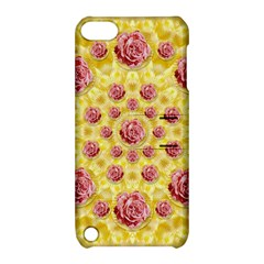 Roses And Fantasy Roses Apple Ipod Touch 5 Hardshell Case With Stand