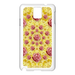 Roses And Fantasy Roses Samsung Galaxy Note 3 N9005 Case (white)