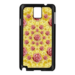 Roses And Fantasy Roses Samsung Galaxy Note 3 N9005 Case (black)