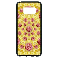 Roses And Fantasy Roses Samsung Galaxy S8 Black Seamless Case
