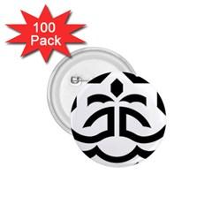 Seal Of Bandar Abbas 1 75  Buttons (100 Pack)