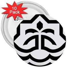 Seal Of Bandar Abbas 3  Buttons (10 Pack)