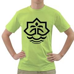 Seal Of Bandar Abbas Green T Shirt