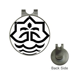 Seal Of Bandar Abbas Hat Clips With Golf Markers