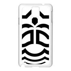 Seal Of Bandar Abbas Samsung Galaxy Note 3 N9005 Case (white)