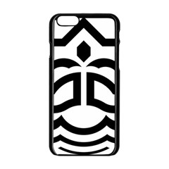 Seal Of Bandar Abbas Apple Iphone 6/6s Black Enamel Case