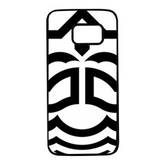 Seal Of Bandar Abbas Samsung Galaxy S7 Black Seamless Case