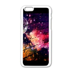Letter From Outer Space Apple Iphone 6/6s White Enamel Case