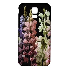 Flowers Samsung Galaxy S5 Back Case (white)