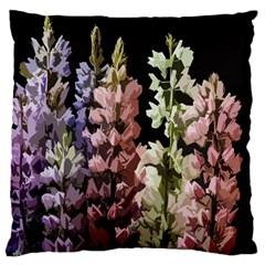 Flowers Large Flano Cushion Case (two Sides)