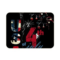 4th Of July Independence Day Double Sided Flano Blanket (mini)