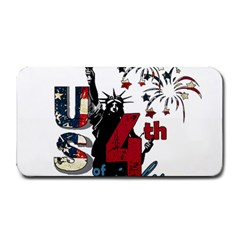 4th Of July Independence Day Medium Bar Mats