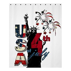 4th Of July Independence Day Shower Curtain 60  X 72  (medium)