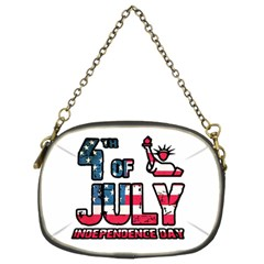 4th Of July Independence Day Chain Purses (two Sides)