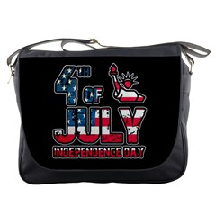 4th Of July Independence Day Messenger Bags