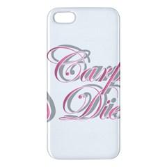 Carpe Diem  Apple Iphone 5 Premium Hardshell Case