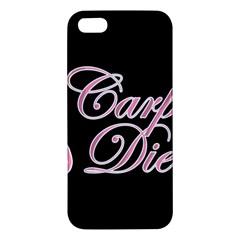 Carpe Diem  Iphone 5s/ Se Premium Hardshell Case