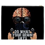 Do what your brain says Cosmetic Bag (XXXL)  Back