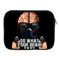 Do What Your Brain Says Apple Ipad 2/3/4 Zipper Cases