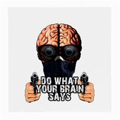 Do What Your Brain Says Medium Glasses Cloth (2 Side)