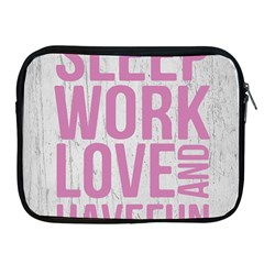 Grunge Style Motivational Quote Poster Apple Ipad 2/3/4 Zipper Cases