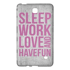 Grunge Style Motivational Quote Poster Samsung Galaxy Tab 4 (7 ) Hardshell Case