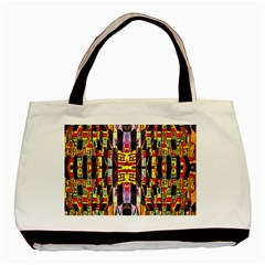 Three D Pie  Basic Tote Bag