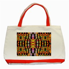 Three D Pie  Classic Tote Bag (red)