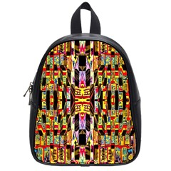 Three D Pie  School Bags (small)