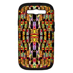 Three D Pie  Samsung Galaxy S Iii Hardshell Case (pc+silicone)
